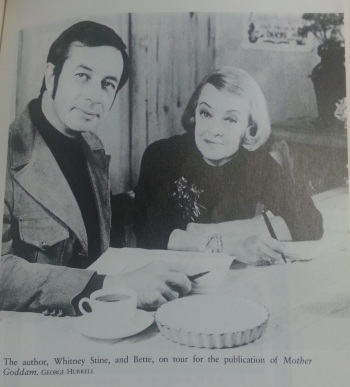 Bette with the Author, from my 1991 paperback edition