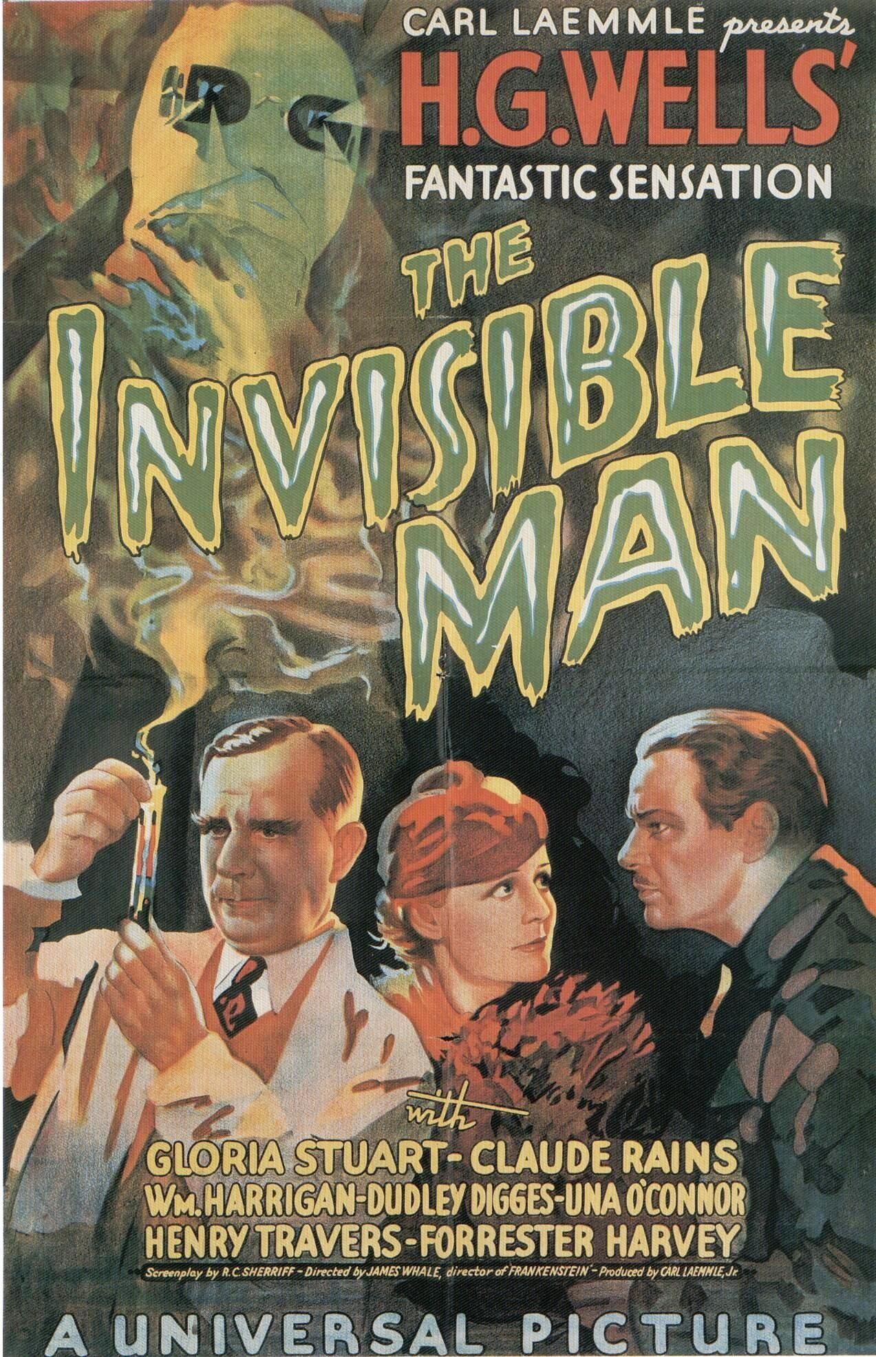 one year one film 1933 the invisible man the motion pictures image via never enough films