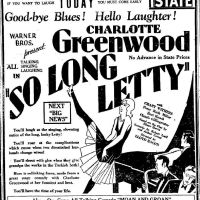 So Long Letty (1929)