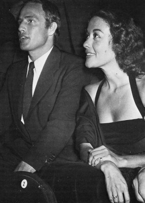 Movita was Brando's second wife. (Image via Classic Hollywood Central)