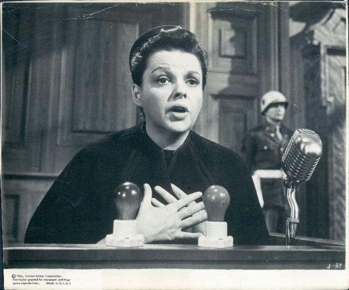 Judy in Judgment at Nuremberg (Image via judygarlandtalkofthetown.blogspot.com)