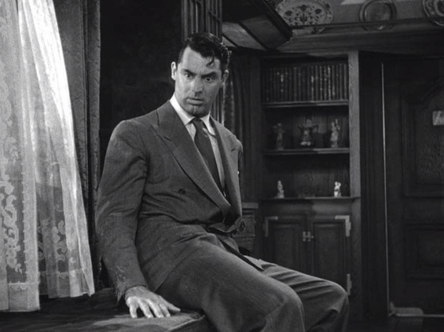 Cary Grant in Arsenic and Old Lace (Screen capture by Lindsey for TMP)