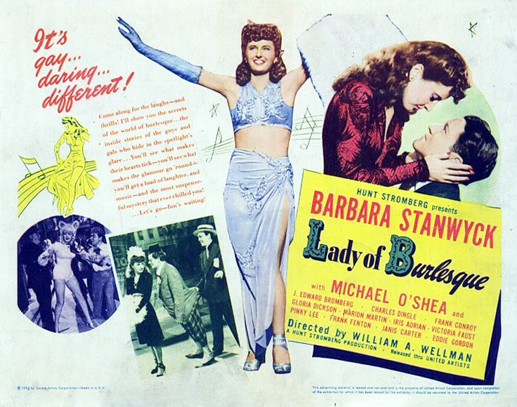 Bill, the Director and Barbara, the star: Ranking the Collaborations of Wellman and Stanwyck (2/6)
