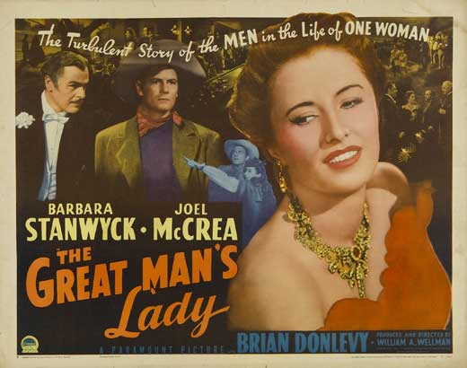 Bill, the Director and Barbara, the star: Ranking the Collaborations of Wellman and Stanwyck (4/6)
