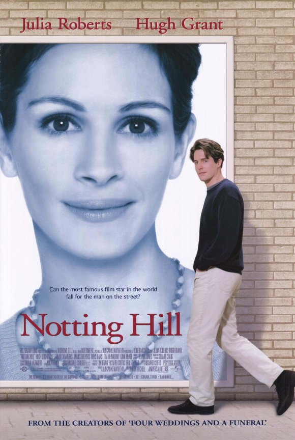 Notting Hill 1999 BluRay 720p 500MB ( Hindi – English ) ESubs MKV