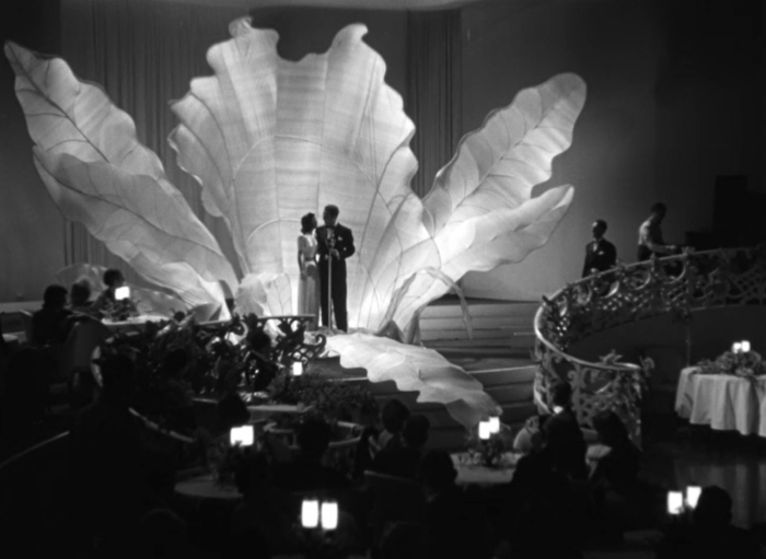 The height of Hollywood talent and glamour: a radio broadcast from the Orchid Room (Screen capture by Lindsey for TMP)