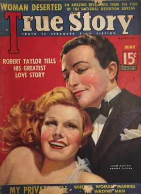 True Story, May 1937 (Photographed by Lindsey for TMP)