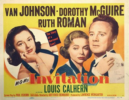 Invitation (1952) – The Motion Pictures