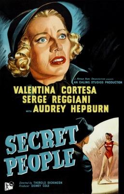 Audrey Hepburn, Secret People (1952) starring Valentina Cortese