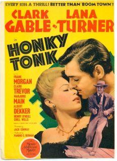 Honky Tonk 1941 Film Poster