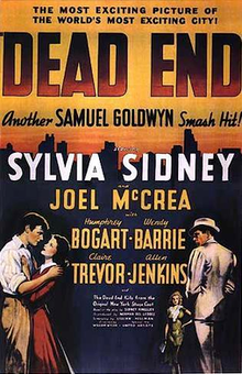 Dead End 1937 Movie Poster