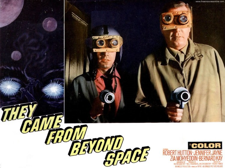 They Came From Beyond Space card