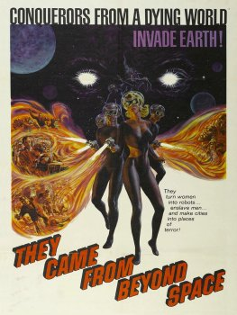 They Came From Beyond Space Poster