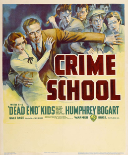 Crime School 1938 Movie Poster