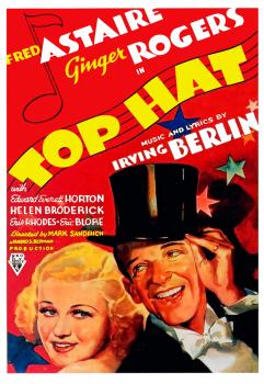 Top Hat 1935 Film Poster