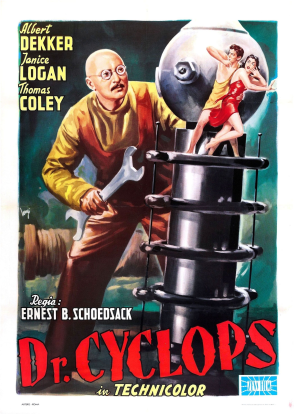 Dr. Cyclops Movie Poster