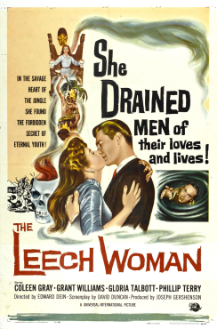 The Leech Woman 1960 movie poster