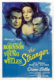 The Stranger 1946 movie poster