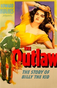 The Outlaw 1943 movie poster